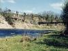 Мост через речку Лыну у д. Хамантово. 2000 год.