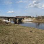 Капитальный ремонт моста через Тосну
