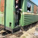 Забытый пассажирский вагон