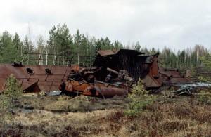 Торфокорабль. 2003 год.