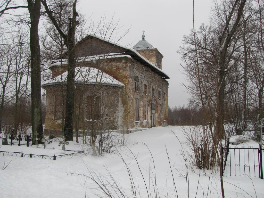 Деревня Пельгора. Церковь во имя Святителя Николая Чудотворца (1806 г).