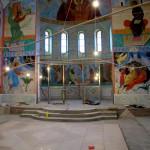 Роспись храма Св. Амвросия Оптинского.