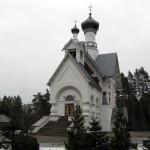 Церковь Св. Благоверного Князя Александра Невского в Сосновом бору.