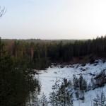 Вид с горы Приозёрная на восток.