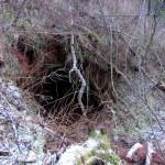 Вход в пещеру.