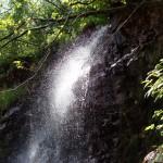 Водопад на Рагуше, вид сбоку.