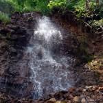 Водопад на Рагуше, верхняя ступень.