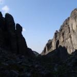 Известный каменный истукан в Аку-Аку.