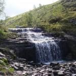 Водопад на ручье Юмъекорруай.
