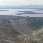 Вид на озеро Имандра с г. Хибинпахчорр.