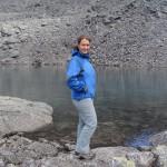 Озерцо под перевальным взлетом Южного Чоргорра.