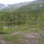 Озеро в долине реки Кунийок.