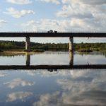 Автомобильный мост через Тунтсайоки.