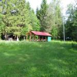 Стоянка детского экологического лагеря на Рагуше.