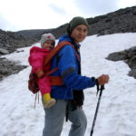 Снежник на подходе к Северному Рисчорру.