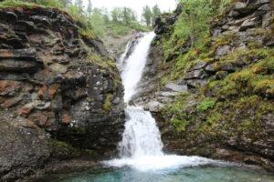 Водопад Рисйок.