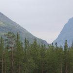 Вид на Умбозерский перевал.